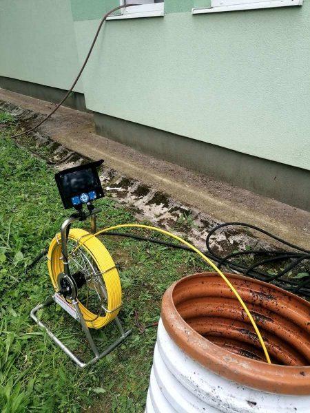 Monitorovanie kanalizácie